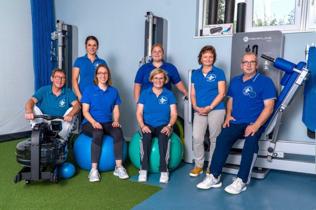 Das Physio-Team der Physiotherapie - Massage Praxis Kappeln Kirchner und Foeh
