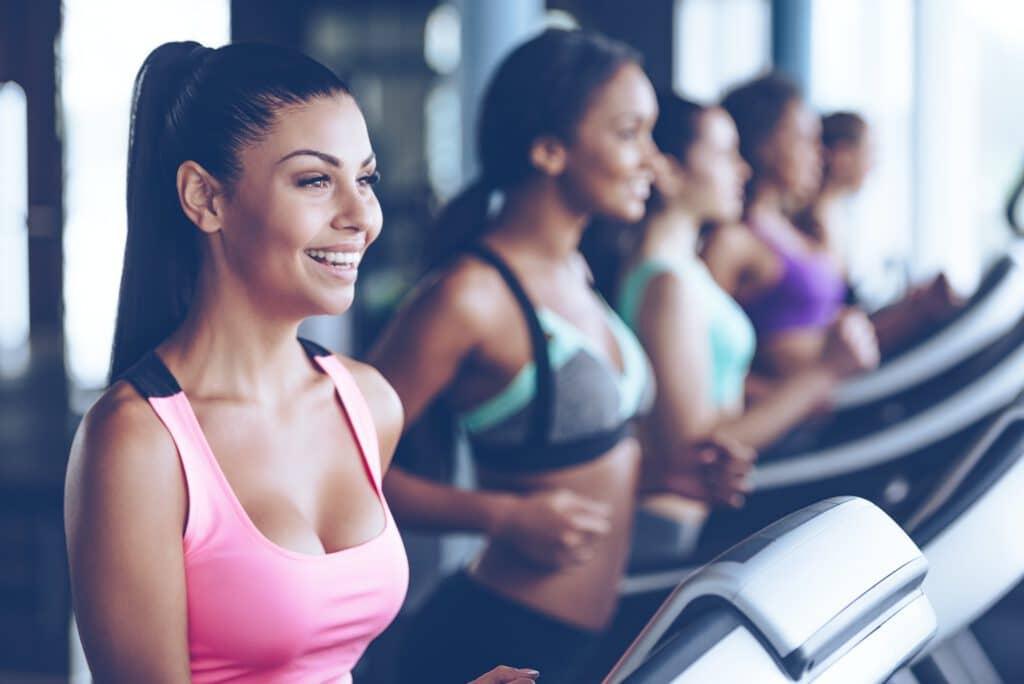 Auch im Fitness-Studio kann man sein Lauftraining machen