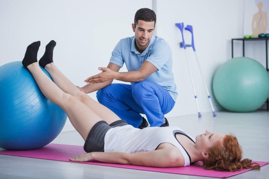 Was machen Sport- und Bewegungsphysiotherapeuten?