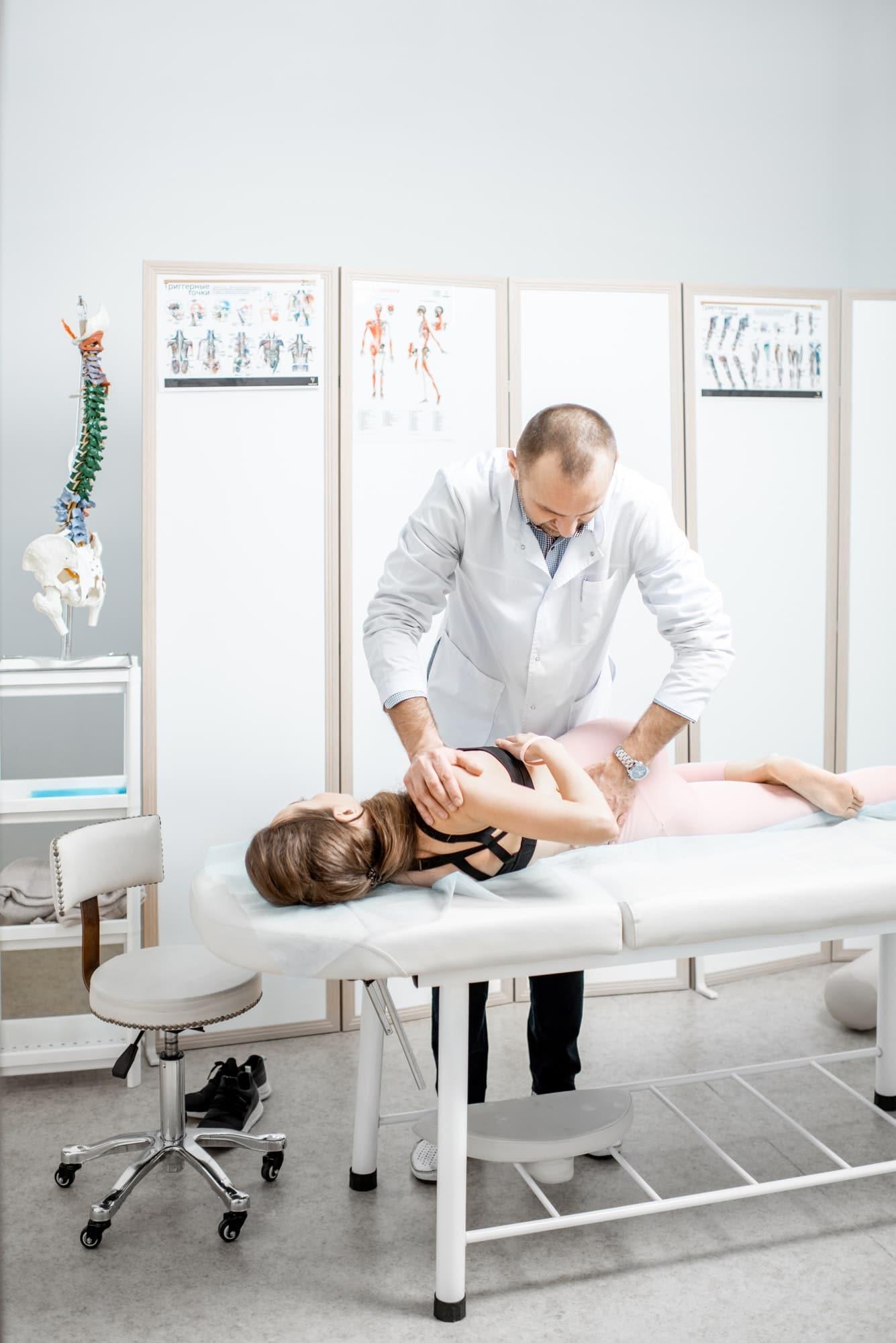 Physiotherapie bei Rückenschmerzen in Kappeln