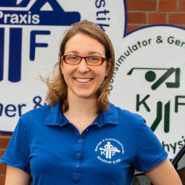 Physiotherapeutin Sarah Otzen in der Massagepraxis Kirchner & Föh in Kappeln