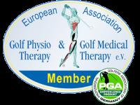 Zertifizierter Golf-Physio-Trainer Mitglied bei der European Association GolfPhysioTherapy & GolfMedicalTherapy e.V.